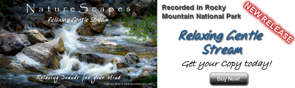 Relaxing Gentle Stream - Sounds of Nature